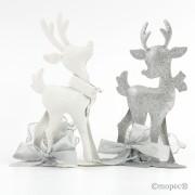 Figura metal reno con bomones
