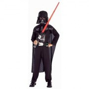 Rubies Star Wars Darth Vader Action Suit Child Size 8 to 10