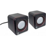 Boxe Manhattan USB 2600 Series 2x3W negre