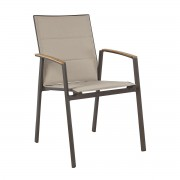 Set de 4 scaune VICTOR carbune/ gri