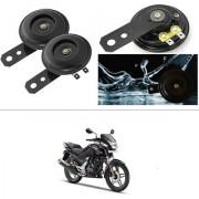 KunjZone Horn 12V 105db Scooter Moped Dirt ATV Motorbike Moto Bikes Horn Loud Air Horns Motorbike Classic Horns (Set of 2) For Honda CBZ TYPE 1