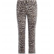Michael Kors Pantalone Michael Kors in cotone stampa leopard