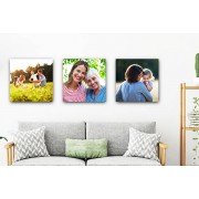3 Personalised Canvases - 12