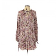 Mossimo Supply Co. Casual Dress - Mini: Purple Floral Dresses - Used - Size X-Small