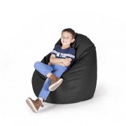 Pepper Sacks Sillón Puff Drop Kids Negro