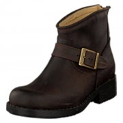 Johnny Bulls Very Low Boot Zip Back Brown/Gold, Shoes, brun, EU 40