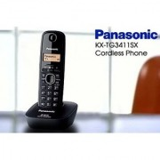 PANASONIC KX-TG 3411 CORDLESS TELEPHONE PHONE CALLER ID PHONE FOR HOME OFFICE