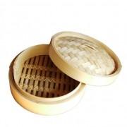 Bambusz pároló tetővel, 26 cm-es