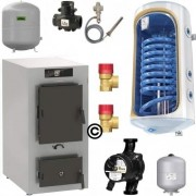 Cazan Vitoligno 100-S 34,9 Pachet Boiler 120