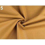 Ekobőr anyag táskákhoz, dekorációkhoz, 140cm/0.5m, mustár, 380735-5