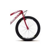 Bicicleta Colli 750 CBX Vermelho Aro 24 Aero 21 Marchas Freio V-Break