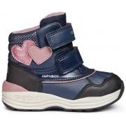 Geox zimske čizme za djevojke New Gulp, 20, plave