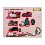Xenos Kersttrein Santa - met muziek en verlichting