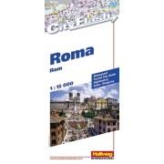 Plattegrond City Flash Rome | Hallwag