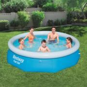 Bestway Fast Set Надуваем басейн, кръгъл, 305x76 см, 57266