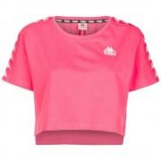 Kappa T-Shirt Donna Banda Appua, Taglia: L, Per adulto Donna, Rosso, 303WGQ0 C68