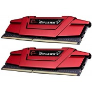 Memorie G.Skill Ripjawa V Red, DDR4, 2x4GB, 2400MHz