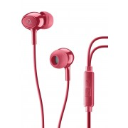 CELLULARLINE SpA AQL Acoustic Pump Bass In-Ear Cellularline Red 1 Pair