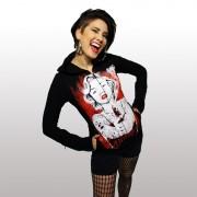 kapucnis pulóver női - Ricochet - VIXXSIN - POI248