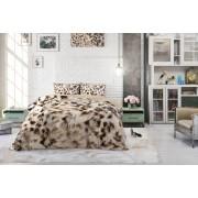 VakantieVeilingen.be Katoenen dekbedovertrek Cheetah skin (200 x 200 cm)