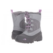 The North Face Alpenglow Lace (ToddlerLittle KidBig Kid) Q-Silver GreyLupine Purple