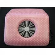 Aspirator Praf - roz cu buline model mare