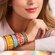 Altesse Les Georgettes armband, breed, goudkleur