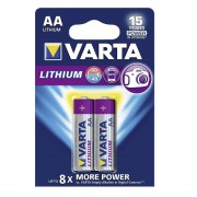 Varta PROFESSIONAL LITHIUM L91 LR6, AA, MN1500 - комплект 2 батерии