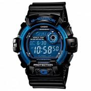 Reloj para hombre Casio G-8900A-1-Negro + Azul