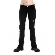 Da donna i pantaloni Black Pistol - Pocket Hipster Denim Black - B-1-57-001-00