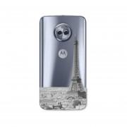 Funda Para Celular Motorola Moto G6 Plus Sky Paris