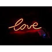 LED dekoračné logo - nápis LOVE
