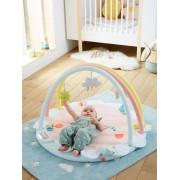 VERTBAUDET Tapete de atividades com arco, Bébé Cerise rosa claro liso com motivo
