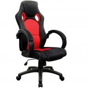 Sportowy Fotel Biurowy Kubełkowy Czerwony