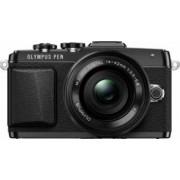 Aparat Foto Mirrorless Olympus E-PL7 black Zoom Kit EZ-M1442EZ 3.5-5.6