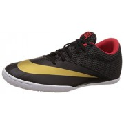 Nike Men's Mercurialx Pro Ic Black, Metallic Gold, Chilling Red and White Sport Running Shoes -6 UK/India (40 EU)(7 US)