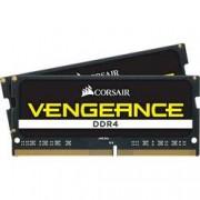 Corsair Sada RAM pamětí pro notebooky Corsair Vengeance® CMSX16GX4M2A2400C16 16 GB 2 x 8 GB DDR4-RAM 2400 MHz CL16