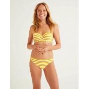 Boden Gelb/Naturweiß, Gestreift Bikinihose Damen Boden, 40, Yellow