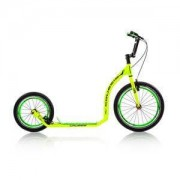 Crussis Sparkcykel Active 4.1, yellow/green, Crussis