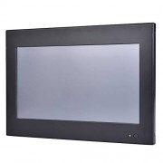 HUNSN 10.1 Inch Industrial Touch Panel PC,All in One Computers,4 Wires Resistive Touch Screen,Windows 7/10,Linux,Intel J1800,(Black), WD12,[3RS232/VGA/LAN/3USB2.0/1USB3.0/Fanless],(4G RAM/64G SSD)