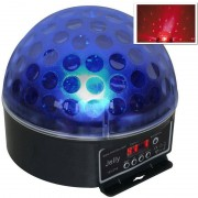 Beamz Magic Jelly Bola DJ. Iluminación LED RGB DMX (Sky-153.216)