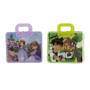 Parteet® New Cartoon Printed Handle Bagss (Combo Pack of 2Pcs)
