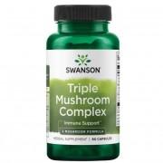 Swanson Triple Mushroom Complex Extract 60 kapslí