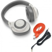 HEADPHONES, JBL E65BT NC, Bluetooth, Microphone, White (JBLE65BTNCWHT)