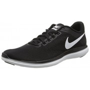Nike Women s Flex 2016 Rn Running Shoe Black/White/Cool Grey 7.5 B(M) US