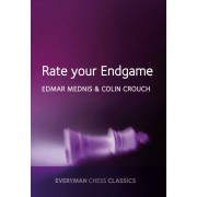 Carte : Rate Your Endgame Edmar Mednis Colin Crouch