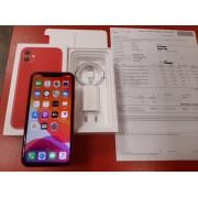 Apple iphone 11 128GB CZ Red v záruce 4/2020 Alza použitý