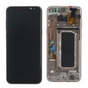 Display/LCD Vidro touch Preto para Samsung Galaxy A8 A530