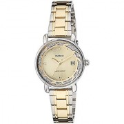 Casio Enticer Analog Gold Dial Womens Watch - LTP-E120SG-9ADF (A1045)