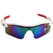 Outdoor Sport Cycling Bicycle Bike Riding Sun Glasses Eyewear Goggle UV400 US - Gold